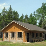 Cordwood Education Center - Exterior