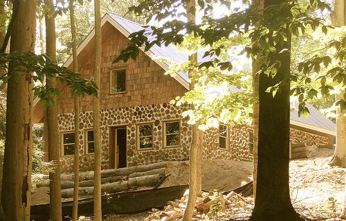 Konopka Cabin - Exterior Front