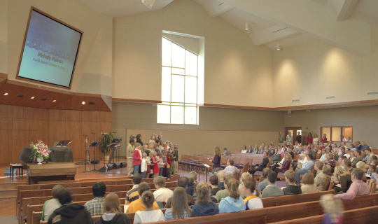 North Haven Church - Sanctuary