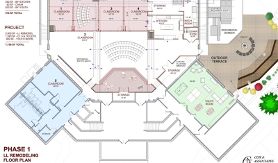 Cornerstone Church - Drawing Floor Plans