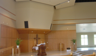 Roberts Congregational UCC - Interior Chancel