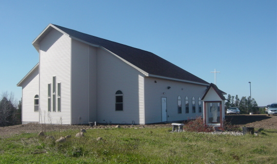 Blessed Sacrament Hermitage - Exterior Rear