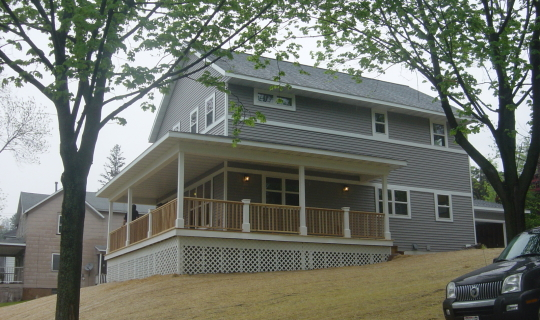 New Residence Wausau Exterior view